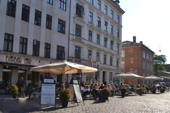 Vesterbro square in Copenhagen