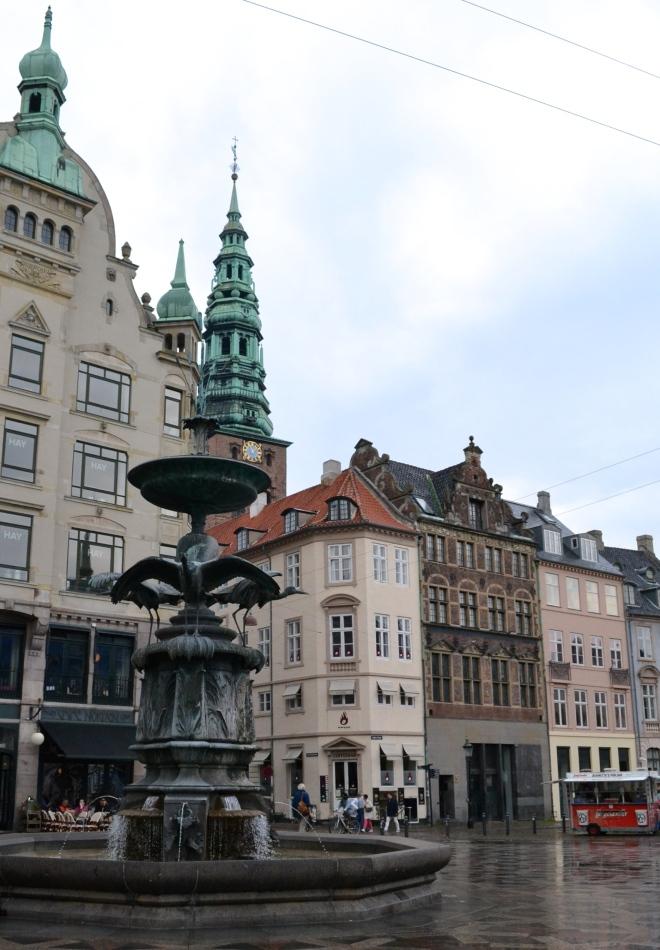 Copenhagen strøget square