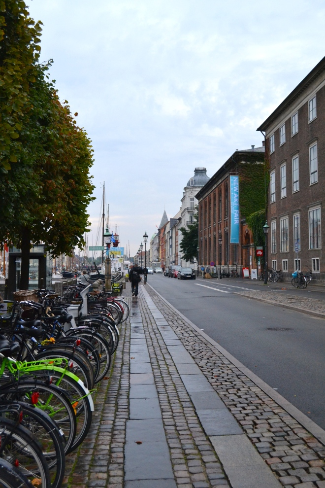 bikes in Nyhavn, Copenhagen