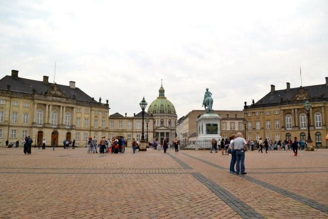 Amalienborg, royal palace in Copenhagen