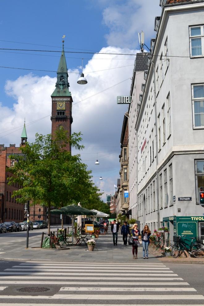 streets in copenhagen, nyhavn, enroute to christianshavn