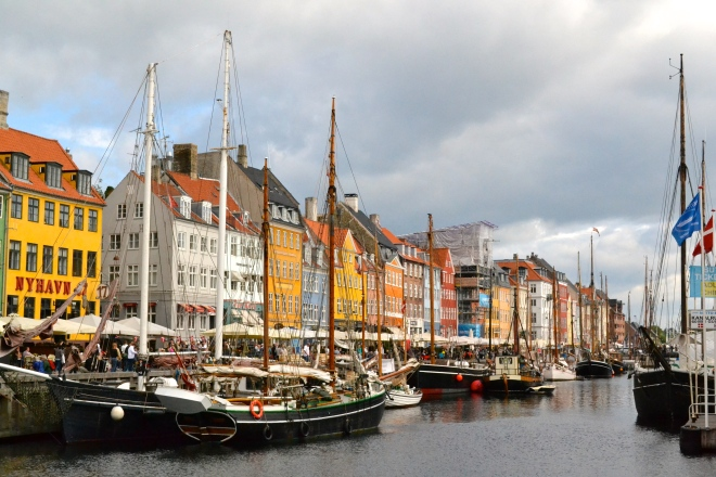 pier harbor in nyhavn copenhagen