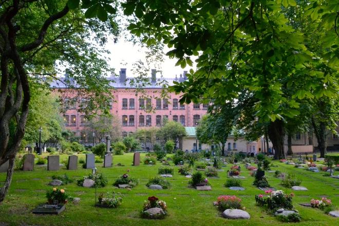 cemetery in sodermalm stockholm sweden