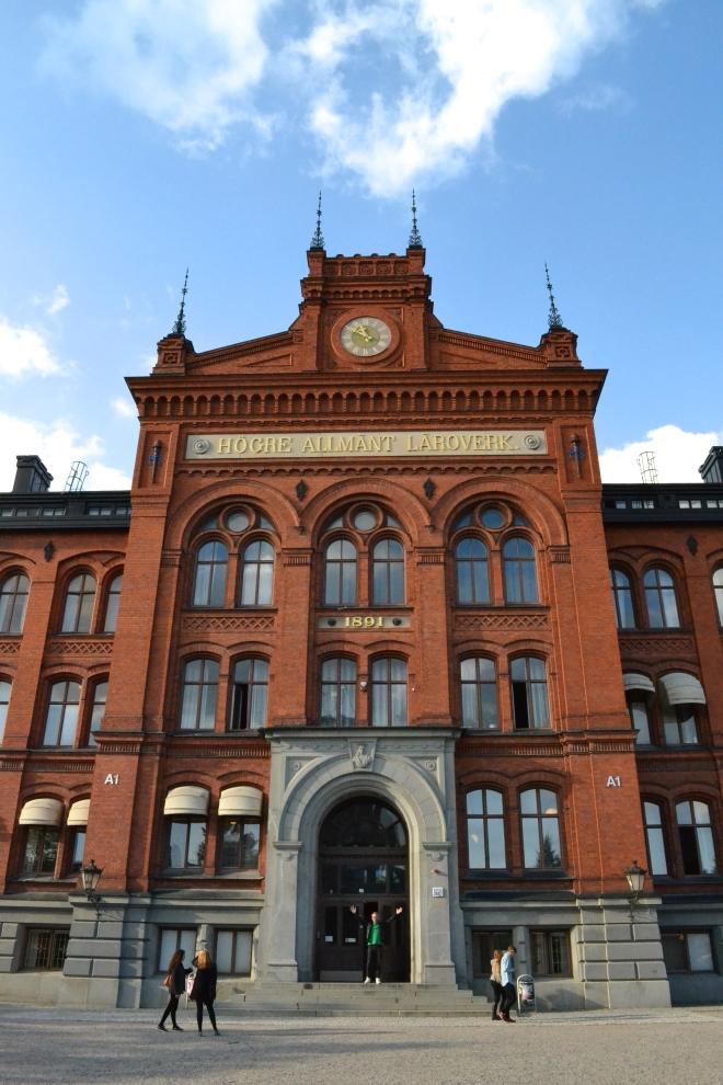 high school in sodermalm stockholm sweden