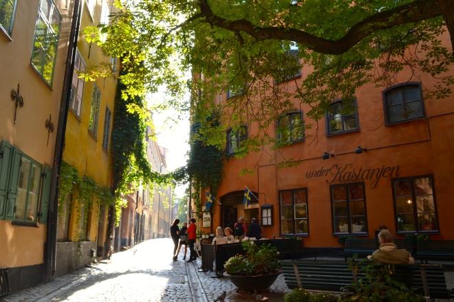gamla stan square in stockholm sweden