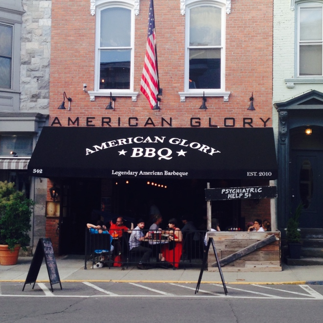 American Glory BBQ in Hudson, NY