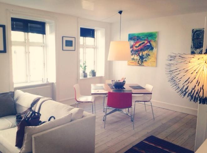 Airbnb rental apartment in Vesterbro, Copenhagen