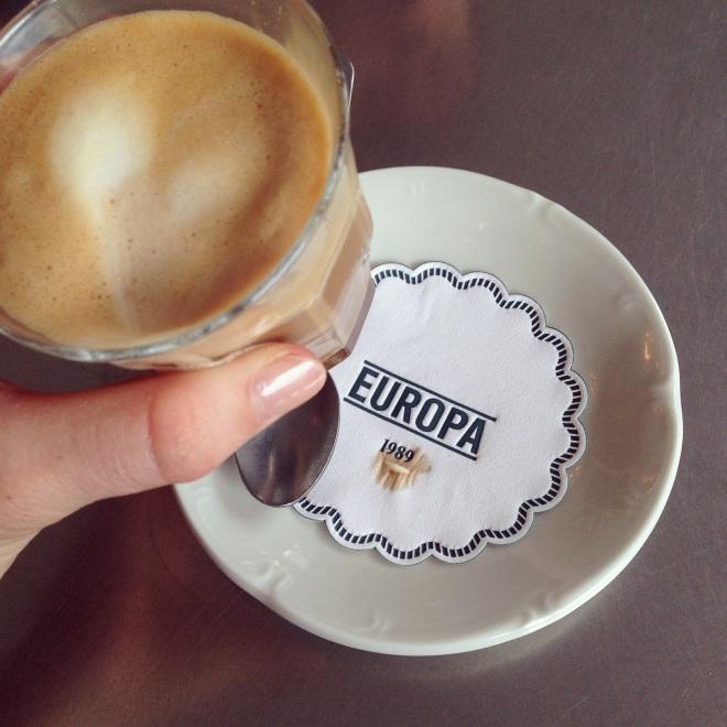cortado coffee espresso in copenhagen