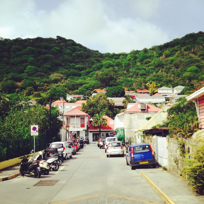center of town in st. barths isle de france