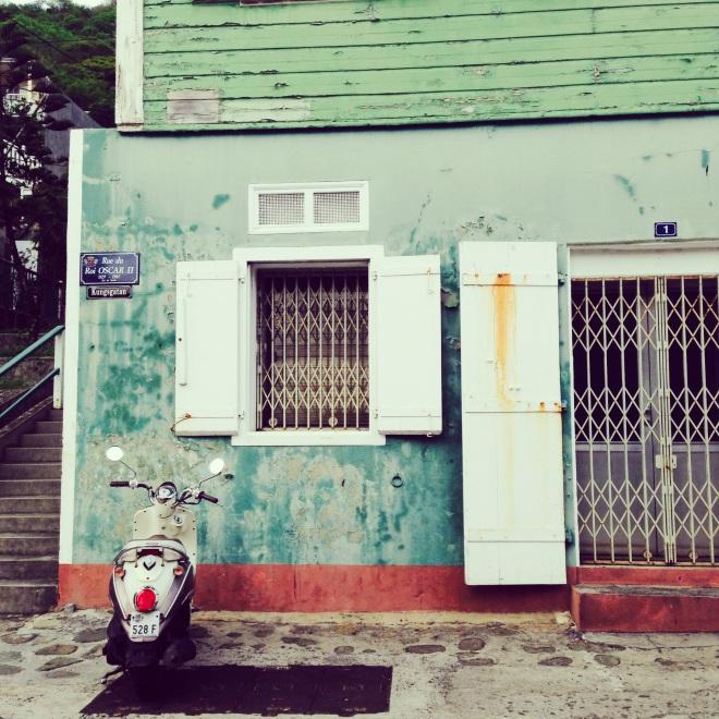 caribbean town st. barths