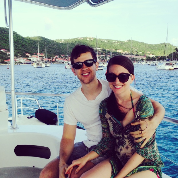sunset cruise boat ride in st. barths isle de france