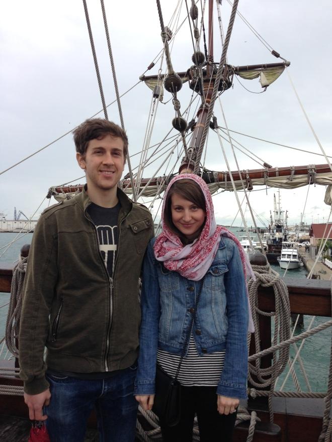 el galeon ship in port canaveral, florida