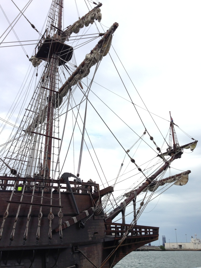 el galeon ship in port canaveral, florida