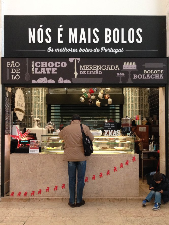 food stand at lisbon mercado da ribeira