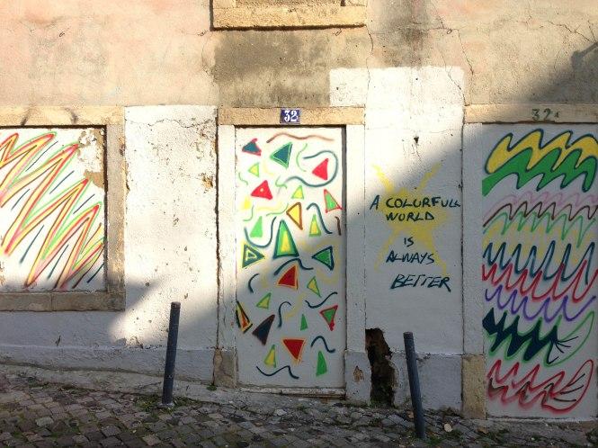 street art in lisbon portugal