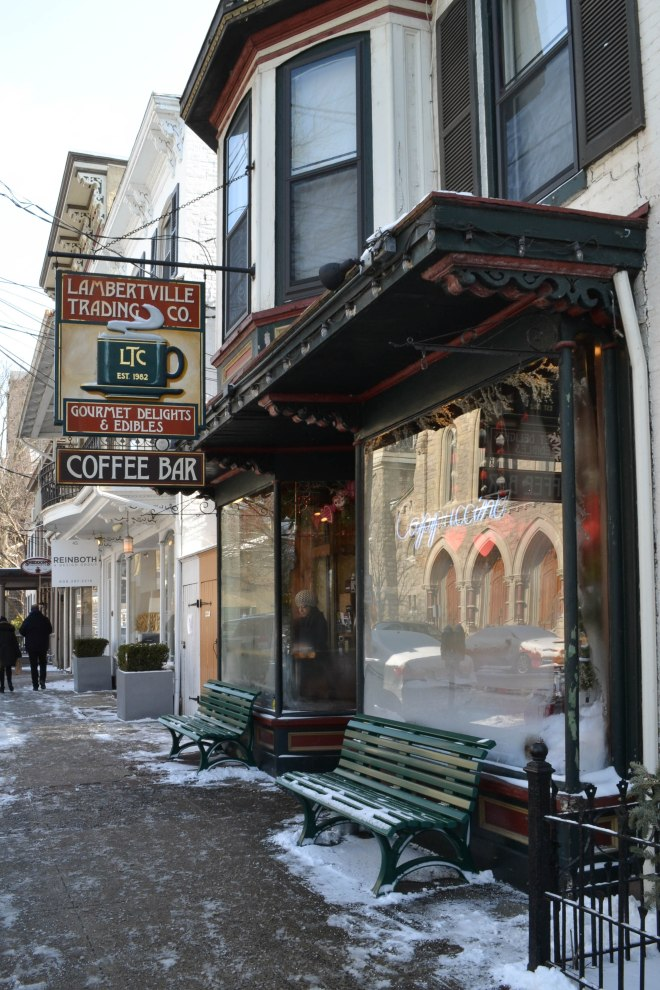 Coffeehouse in Lambertville, NJ