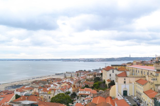 View of Lisbon from Alfama, Lisbon, Portugal