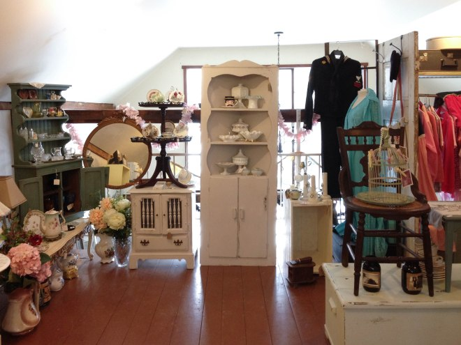 Vintage shop in New Hope, PA