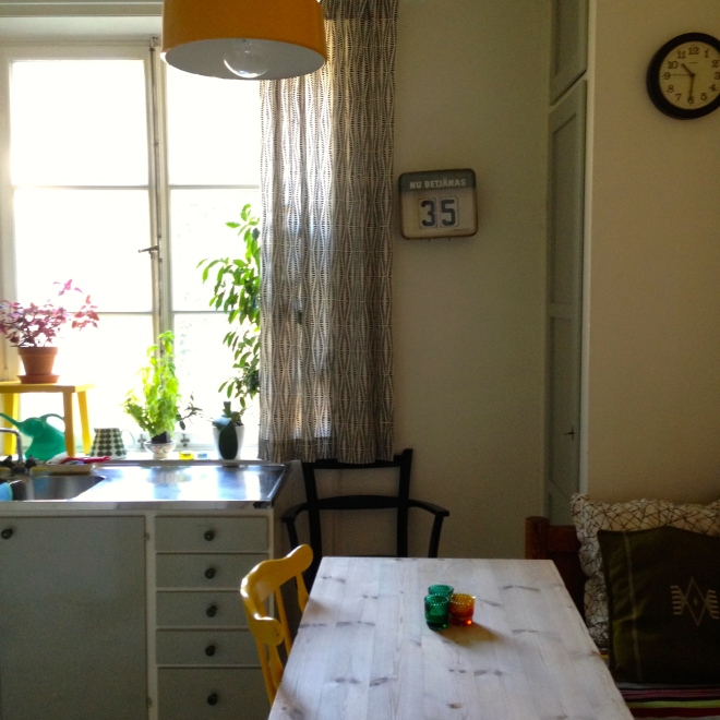 Airbnb rental in Stockholm, Sweden