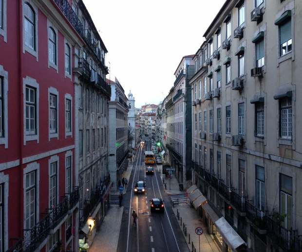 Street view in Lisbon, Portugal